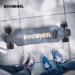 Koowheel 4 Wheel Electric Skateboard Onyx Electric Longboard Dual Hub Motor Skateboarding 2nd Gen Upgraded Electrico Hoverboard