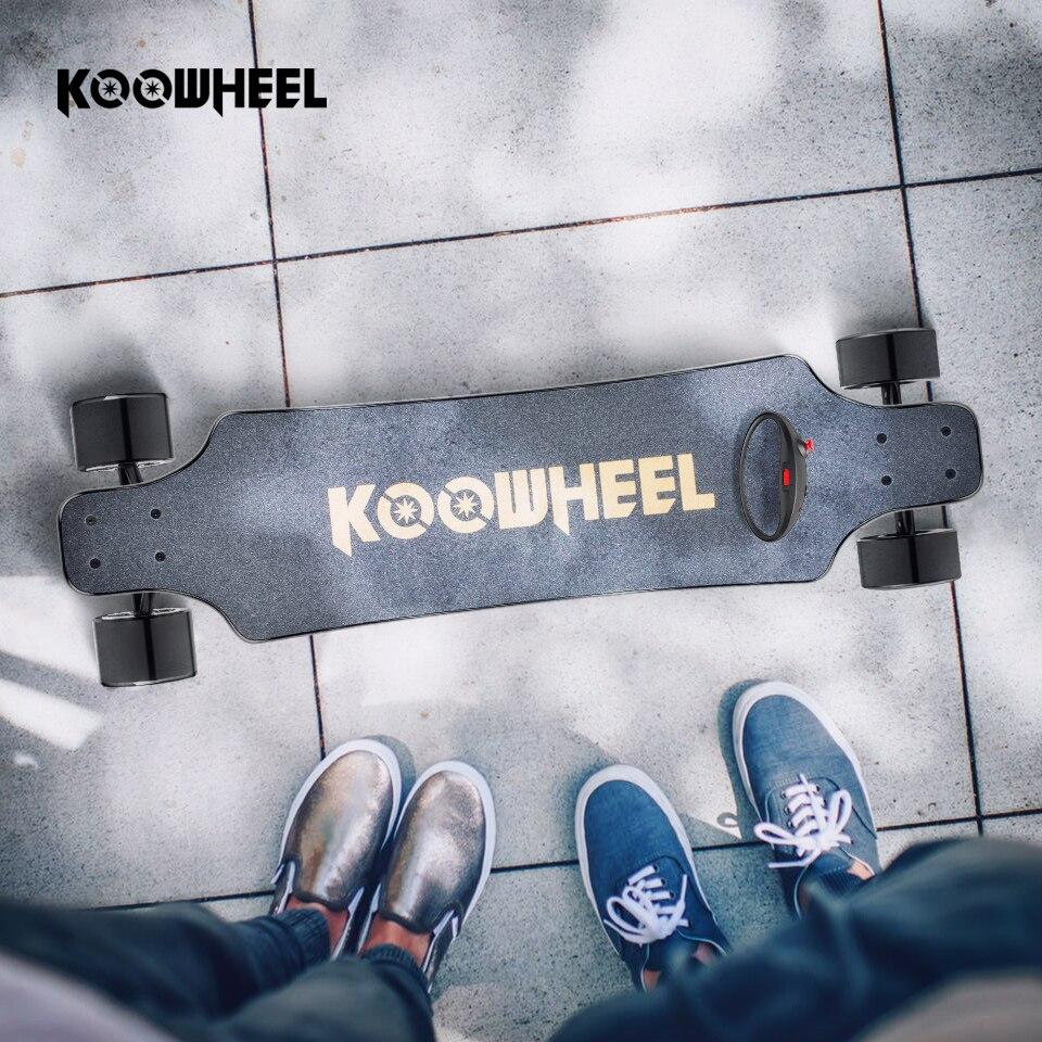 Koowheel 4 roues planche à roulettes électrique Onyx Longboard électrique double moyeu moteur Skateboard 2nd Gen mis à niveau Hoverboard électrique
