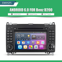 Android 6 0 Quad Core Car DVD Stereo Bluetooth GPS Navigation For Mercedes Benz W245 W169