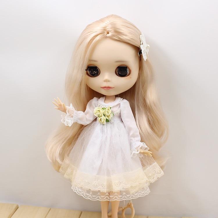 Neo Blythe Doll Lace Flower Dress 4