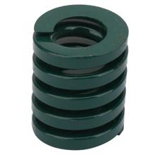 2pcs OD 25mm ID 12.5mm Heavy Load Mould Die Spring Green spring bar tool tension spring