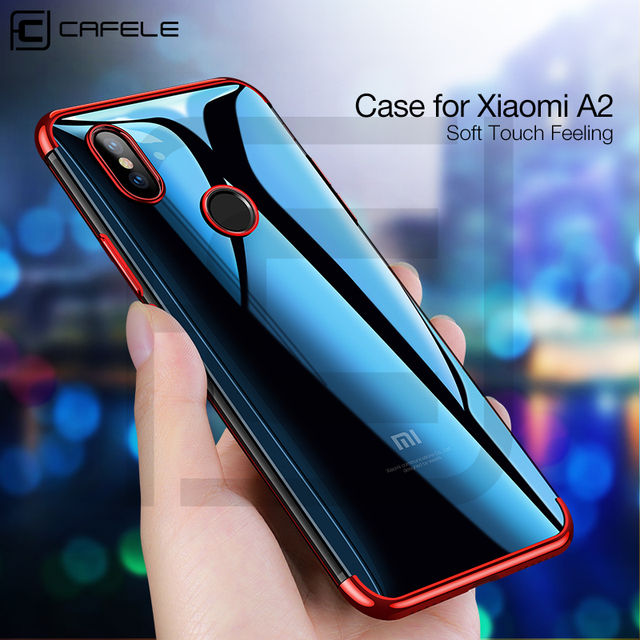 the latest 4b924 b6179 US $3.99 20% OFF|Cafele Luxury Case for Xiaomi Mi A2 Soft TPU Plating  Transparent Case for Xioami A2 Anti Scratch TPU Case for Xiaomi MI A2-in  Fitted ...