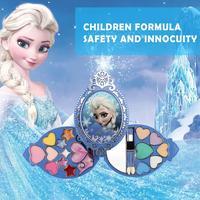 Disney Frozen Princess Makeup Set Toy Cosmetic Eyeshadow Lip Gloss Blushes