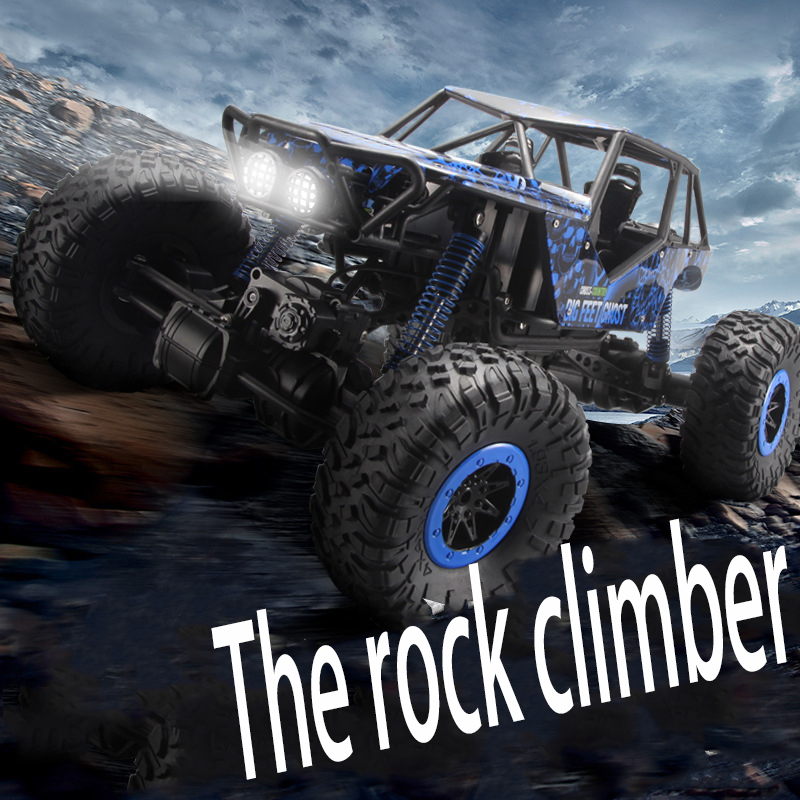 1:10 Electric RC Cars 4CH Hummer Off-road Vehicles 2.4G High Speed Remote Control Rock Crawler Rally climbing Kids Gift Toys