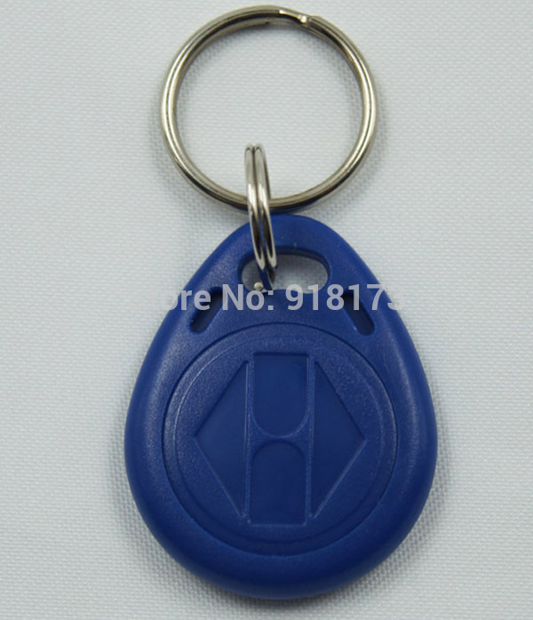 5000pcs/lot 125Khz RFID Proximity tag Keyfob token Access Control Rfid key fob blue turck proximity switch bi2 g12sk an6x