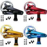175 MTB Bike crank set Road Mountain Crankset 104BCD Chainwheel 30T 32T 36T 38T 42T 7075 Alu Narrow Wide Chainring Chainset Part