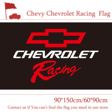 Chevy Chevrolet Racing Flag 3x5ft Custom Banner 90x150cm 60x90cm Sport Flag