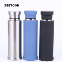 450ml Creative Outdoor Sport Thermos Coffee Cup Water Bottle Stainless Steel Thermo Cup Office Vacuum Thermal Mug Vacuum Flask