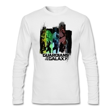 Printing tshirt for men Gift Men's Tees Guardians of the Galaxy Fabic Cotton Movie Show toilette Fitness Tees Home