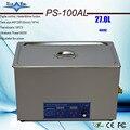 Plus récent PS-100AL puissance réglable 240-600W nettoyeur à ultrasons 27L meilleure qualité pour les pièces de moteur automatique