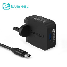 Tronsmart Быстрая Зарядка 3.0 USB Быстрое Зарядное Устройство Стенд-up Fast Зарядное Устройство