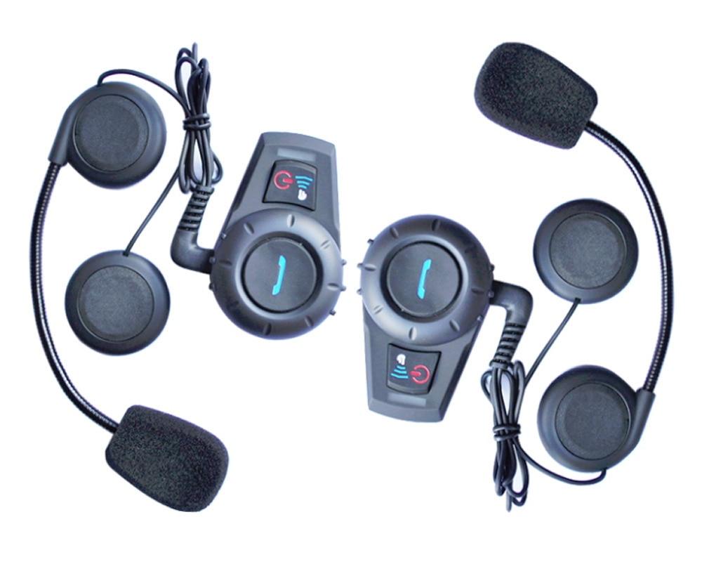 цена на M1035BT interphone Bluetooth Motorbike Motorcycle helmet intercom Headset 500M 2018 New Arrival