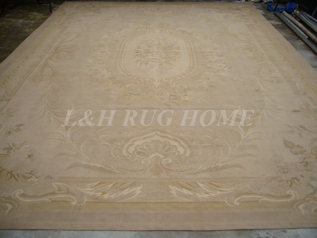 Tappeti Soggiorno Shabby : Trasporto libero grande aubusson tappeti shabby chic