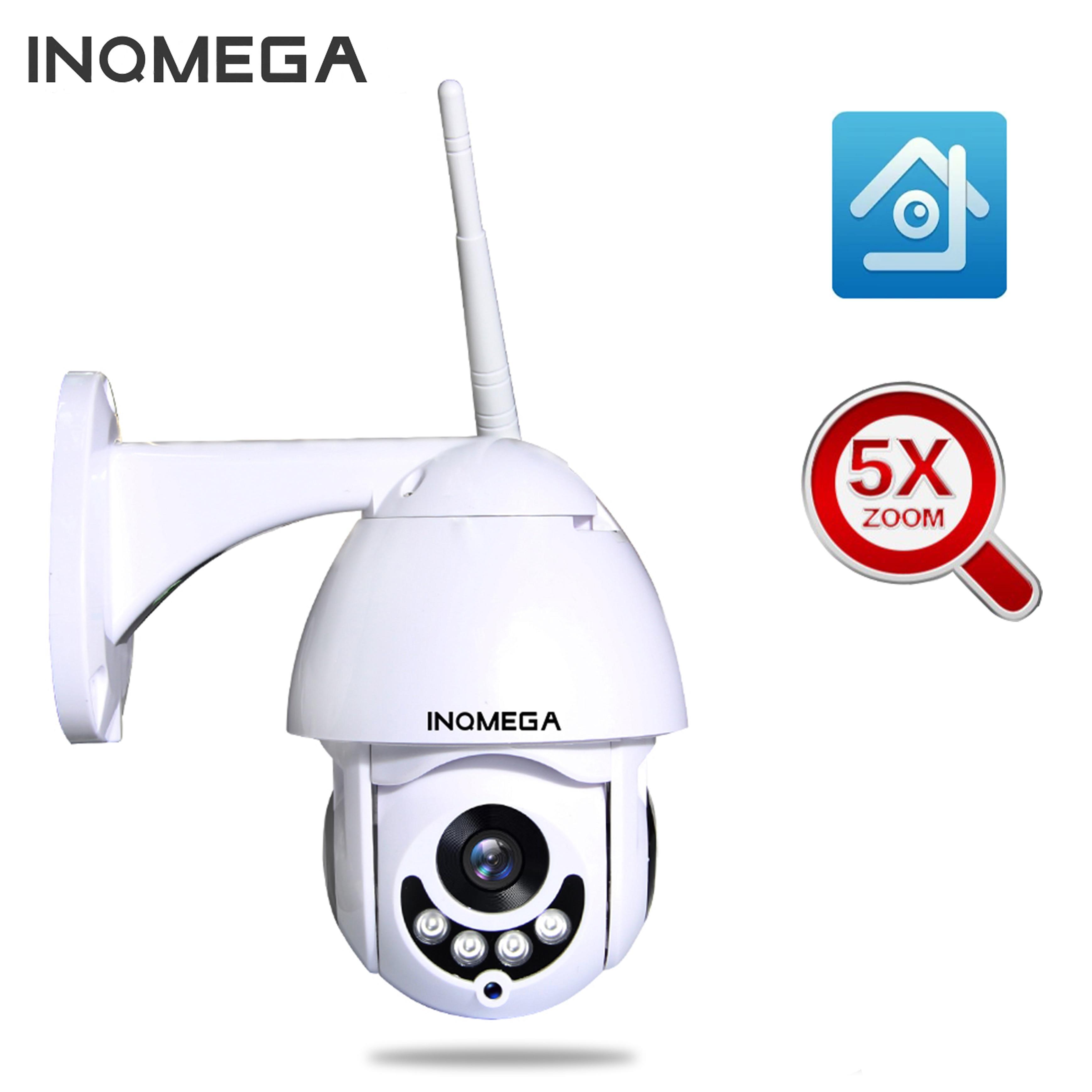 Caméra IP WIFI dôme de vitesse INQMEGA 2MP PTZ 1080 P Zoom extérieur 5X caméra de sécurité sans fil CCTV inclinaison panoramique IR 60 m Audio bidirectionnel