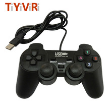 Wired Game Controller Gaming Joypad Joystick USB Gamepad For PC Laptop Vibration Gamepads For Window 7/8/10 PC Gamer