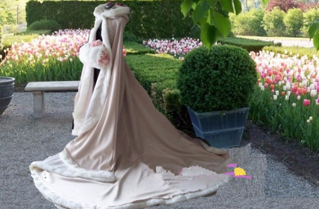 Ashion casaco manto de casamento champagne casamento jaqueta grande-tamanho 12 tamanho branco fur decorado pistas de casamento da noiva xale enrolado