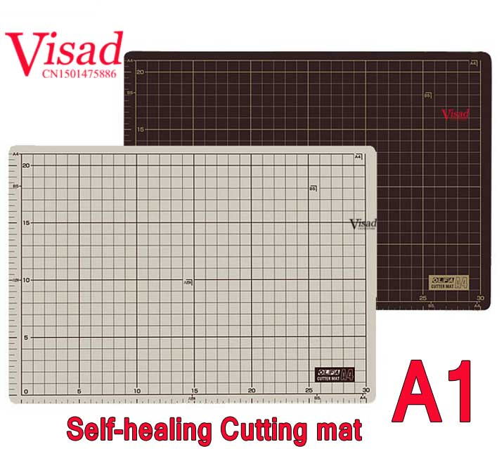 PU self-healing Cutting Mat with grid lines A3 japan 160B cutting mats cutter pad for quilting craft cutting board a2 mint green pvc cutting mat self healing cutting mat patchwork tools craft cutting board cutting mats for quilting