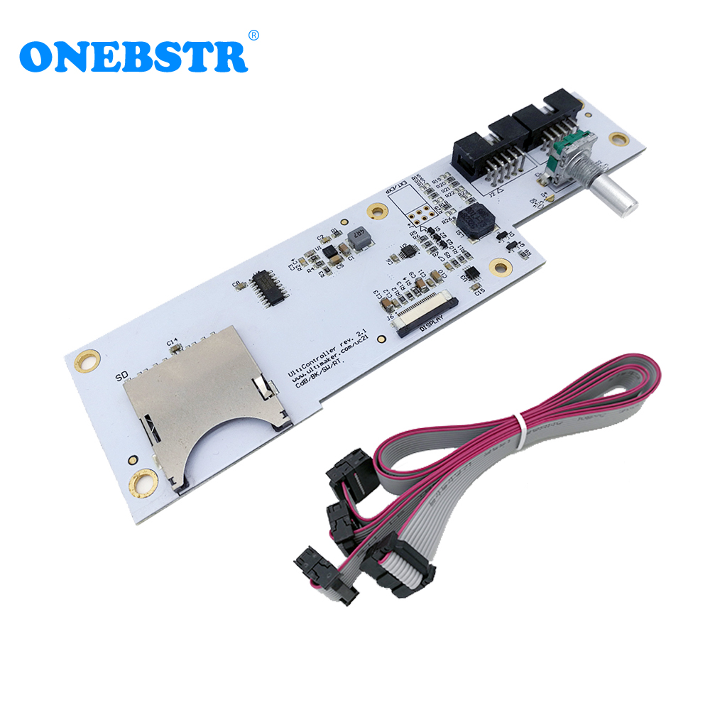 3D Printer Parts Ultimaker V2 Interface Board Integrated SD Card Slot + Encoding Navigation Keys Genuine Spot