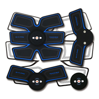 Abdominal Muscle Trainer EMS Stimulation Stimulator Smart Fitness Accessories Arm Stickers Body Massager Loss Slimming ABS Pad