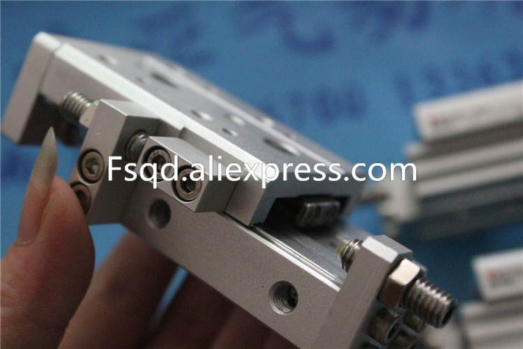 MXS8L-20A MXS8L-30 MXS8L-20AS MXQ6L-20AS SMC Slide guide cylinder Pneumatic components MXS Series mxs6l 10 smc slide guide cylinder pneumatic components pneumatic tool executive component