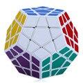 Atacado New 12-side Megaminx magia cubos Educacionais Brinquedo IQ Teaser de Cérebro de Treinamento de Velocidade De Plástico Magnético Bola Cubo magico