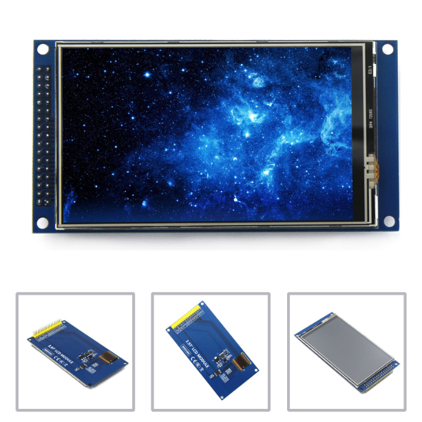 все цены на New CFSUNBIRD 4 inch TFT LCD screen touch screen module IPS full view Ultra HD 800X480 with base plate онлайн