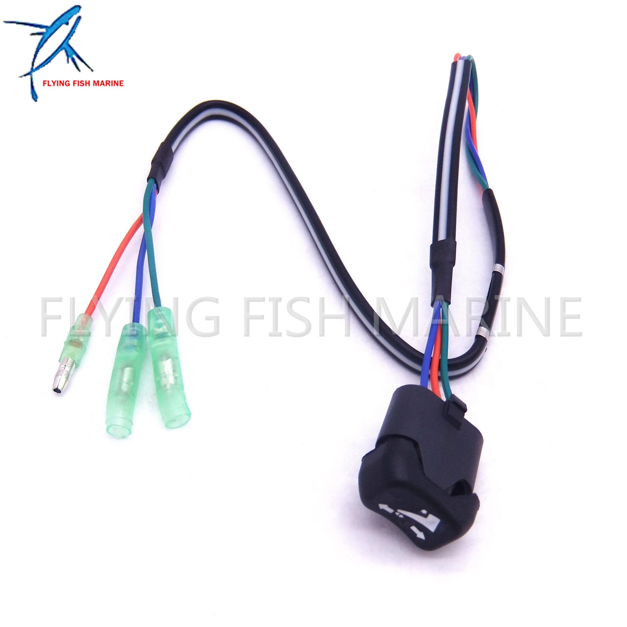 87 18286A43 18286A43 Trim Tilt Switch For Mercury Outboard Remote Control Box