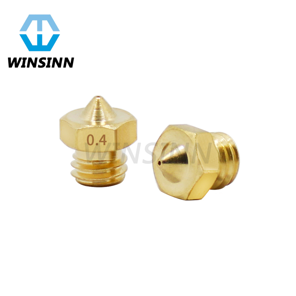 2 IN 1 OUT Multi Multi Color Cyclops Nozzle 0.2 0.4 0.5 M5 Thread For 1.75mm 3D Printer Extruder Hotend