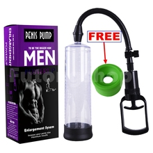 ZENBALA Male Enhancer Penis Extender Vacuum Pump Enlarger Bigger Growth with 2 Sleeves