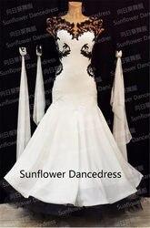 Robe de danse Standard pour ballroom   Tenue de compétition de Waltz, pour femmes, Rumba Jive Chacha, robe de bal de Tango, de la Waltz moderne, nouveau Style!