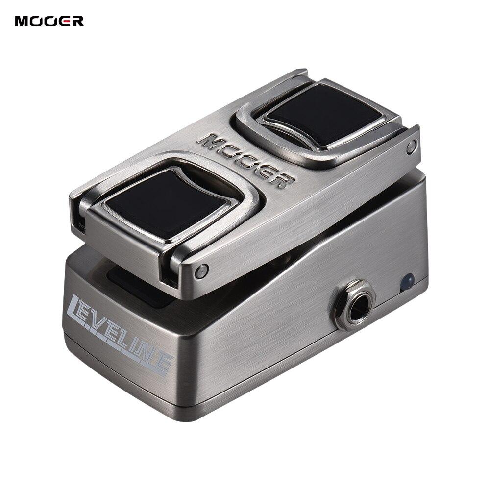 MOOER LEVELINE Volume Effect Pedal Pressure Sensing Switch True Bypass Full Metal Shell