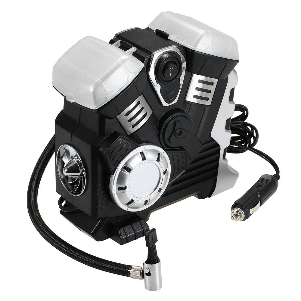 Air Compressor DC 12V Portable Pump Tire Inflator with LED Digital Display up to 150PSI for Car Bicycle SUV Boat