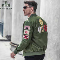 Chaqueta de vuelo Casual de la Fuerza Aérea para hombre talla grande 6XL chaqueta táctica militar casaco masculino piloto chaqueta de bombardero chaquetas hombre