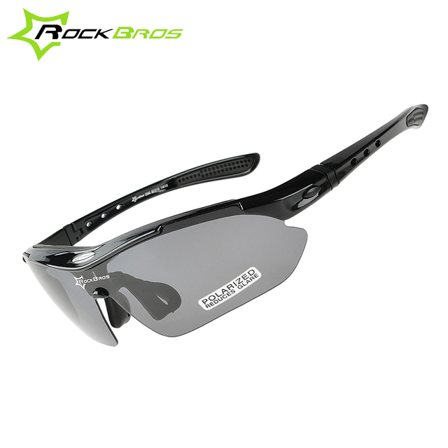 dcd3968d8a RockBros Polarized Cycling Sun Glasses Outdoor Sports Bicycle Glasses Bike  Sunglasses TR90 Goggles Eyewear 5 Lens