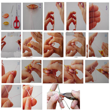 Pack of 2 pcs Plastic Tatting Shuttle For Hand Lace Making Craft Tool H02