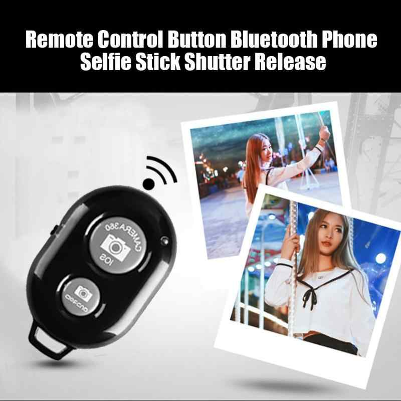 Fghgf Bluetooth Ponsel Self Timer Tombol Rana untuk iPhone 7 Selfie Stick Rilis Rana Remote Kontrol Nirkabel