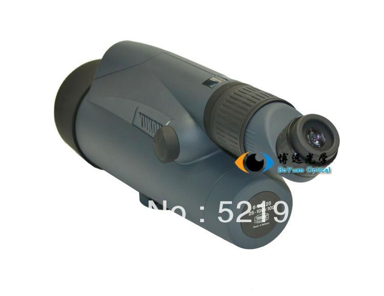 Yukon 6 100x100 lt silver watch advanced zoom spotting scope