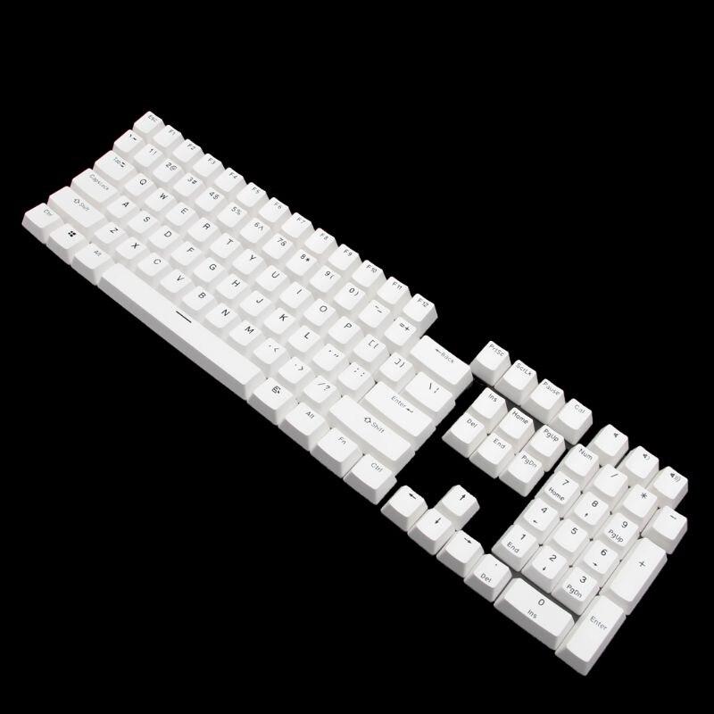 108 Teclas Pbt Keycap De Perfil Ansi Diseño Bi-color De Moldeo Por Inyección Keycap Para Teclado Mecánico