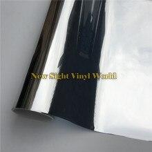 VLT 5% зеркальная Тонирующая пленка для окон, серебряная тонировка для окон, стекло для дома и офиса, Размер: 1,52*30 м/рулон