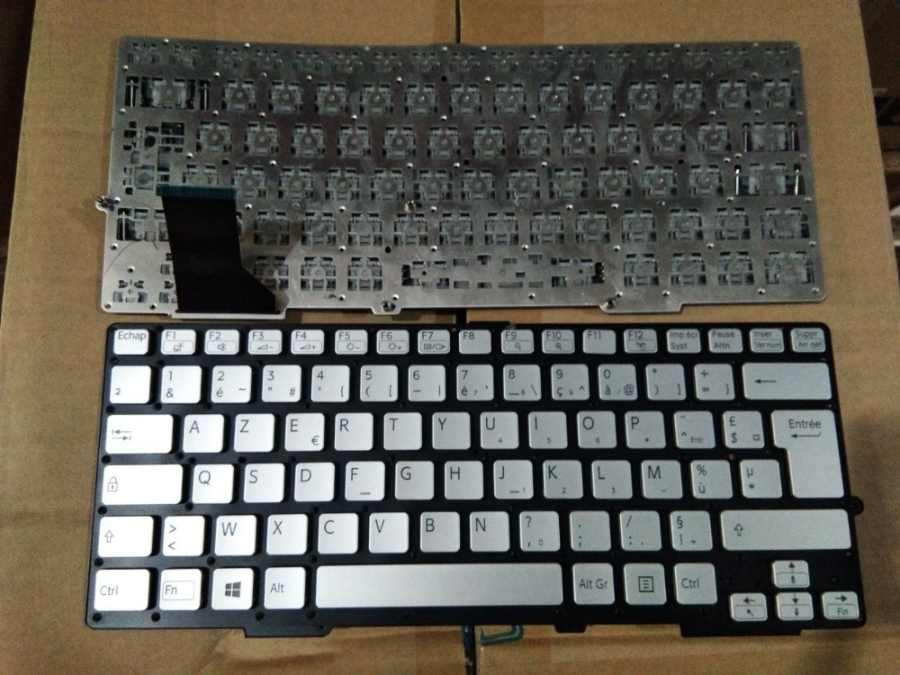 New Laptop keyboard for SONY SVS13 SVS131 SVS131A11T SVS131B11T SVS1311S1C FR/French layout for sony vpceh35yc b vpceh35yc p vpceh35yc w laptop keyboard