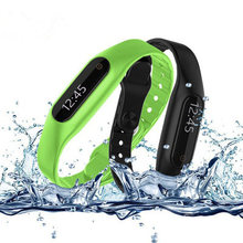 Bluetooth Smart Bracelet E06 wristband Health fitness tracker Waterproof Sport Smartband Watch For iPhone IOS Android phone