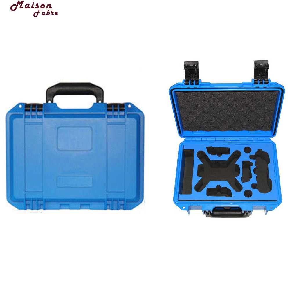 Maison Fabre Drones Bag For Dji Spark Waterproof Hardshell Backpack Case Bag RC Spare Parts Suitcase Box For DJI Spark spark storage bag portable carrying case storage box for spark drone accessories can put remote control battery and other parts