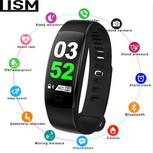 New Smart Bracelet Fitness Tracker Wristband Blood Pressure Heart Rate Monitor With Pedometer Bracelet For Android IOS Pulsera