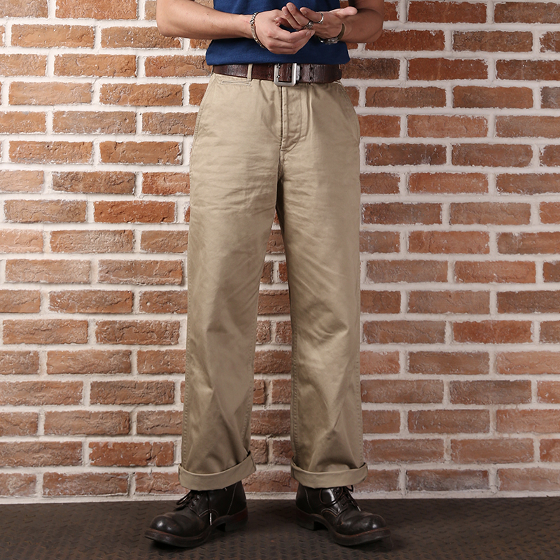 Men's Clothing Hearty Bronson Ww2 Military Ccc Primaries Jeans Male Loose Straight Tooling Long Trousers