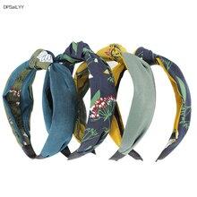 купить DPSaiLYY 4 PC Free Shipping Cloth Hairband Headband for Women  No Slip Knotted Headband Headwear Hair Accessories for Women по цене 1010.06 рублей