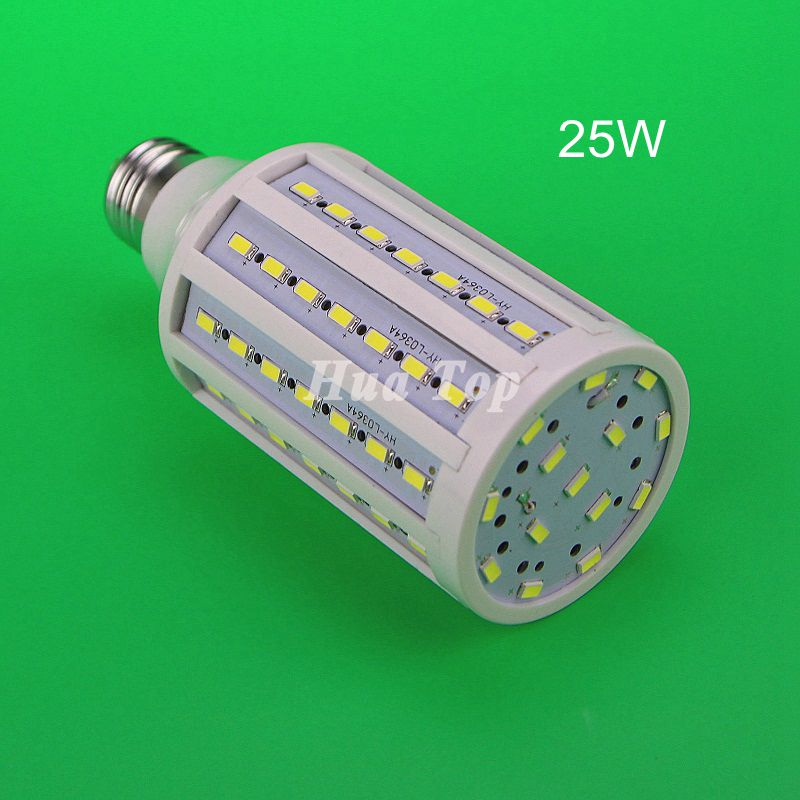 High quality <font><b>25W</b></font> SMD 5730 85-265V <font><b>LED</b></font> corn bulb Epistar Chandelier <font><b>lampada</b></font> Home ceiling light E27 E14 B22 AC85-265 Withe lamp
