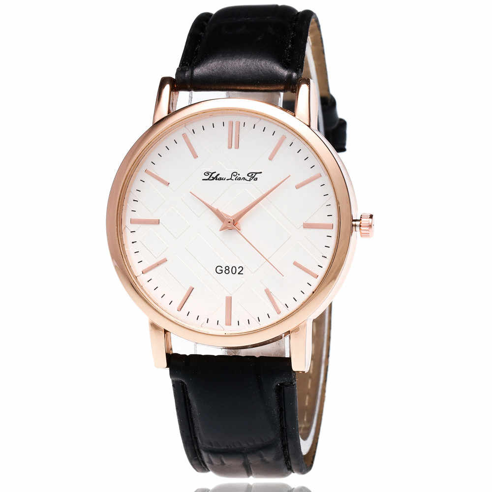 Women Fashion Luxury Leisure Set Auger Quartz Watch hot PU Band Analog ladies Watches style women gift hand CLOCK LD