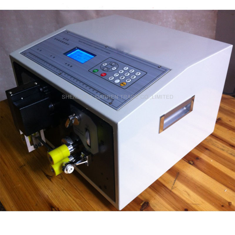 SWT508C-II Automatic Wire Stripping Machine,LED Fast Speed Stripping AC 110V 60Hz/ 220V 50HZ,100W,Stripping range 0.1-2.5MM  swt508c ii automatic wire stripping aachine model swt508d 110 220v two wheel drive