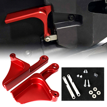 Left&Right Red Billet Aluminum Anodized Door Handle Sets Fit For Can Am Maverick X3 2017 2018 2019