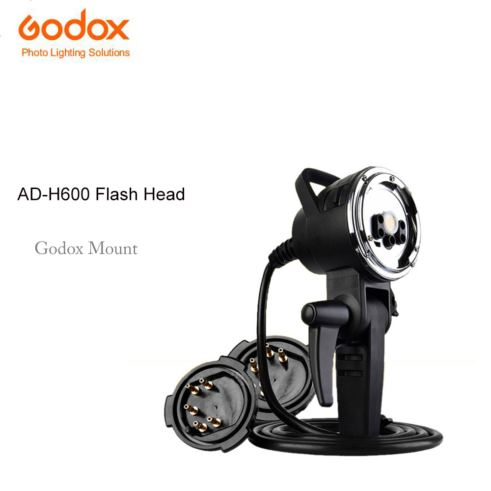 Godox AD-H600 Godox Mount 600W Portable Off-Camera Light Hand-Held Extension Extra Head for AD600 AD600M Wireless Strobe